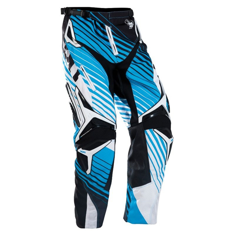 PANTALON CROSS BMX FIRST SCAN BLEU ADO ADULTE T28us