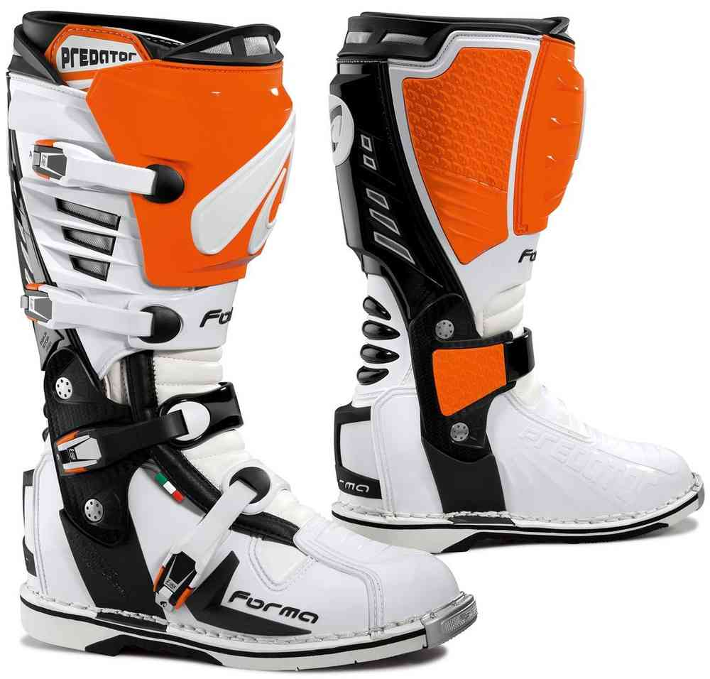 BOTTES MOTO CROSS ENDURO FORMA PREDATOR ORANGE P.43