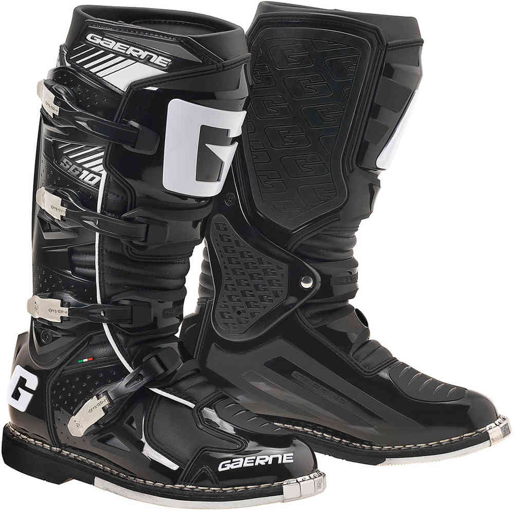 bottes moto cross enduro gaerne sg10 noir. Black Bedroom Furniture Sets. Home Design Ideas