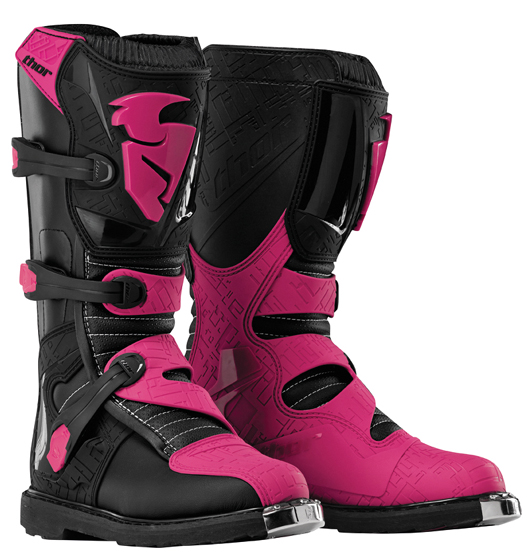 exclusif bottes moto cross enfant ado femme thor rose p40. Black Bedroom Furniture Sets. Home Design Ideas