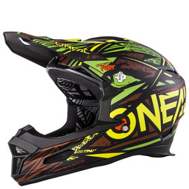 CASQUE BMX O'NEAL FURY SYNTHY VERT ENFANT ADULTE XS S