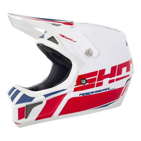 CASQUE BMX DH ENFANT SHOT ROGUE ROUGE BLEU YS 48 YM 50 YL 51
