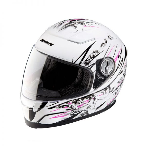 CASQUE INTEGRAL ENFANT FILLE NOX LOLLY ROSE YS 48 49