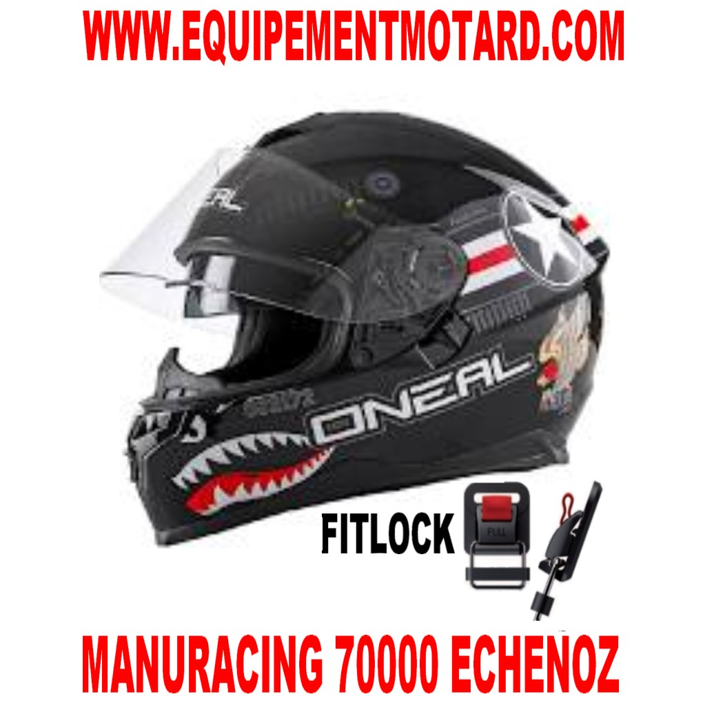 CASQUE INTEGRAL ROUTE 2 VISIERES PINLOCK ONEAL CHALLENGER WINGMA