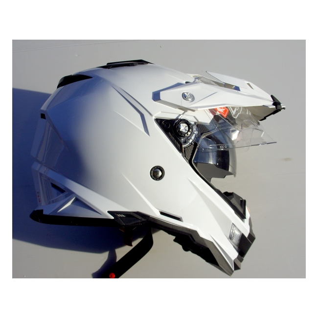 CASQUE ENDURO DOUBLE VISIERE ONEAL SIERRA BLANC L