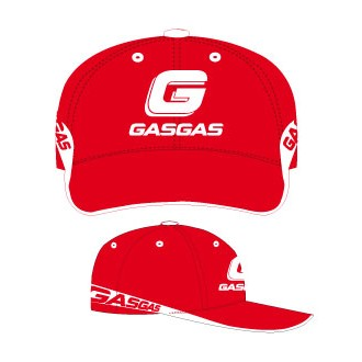 CASQUETTE GASGAS ROUGE racing