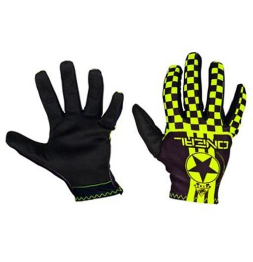 GANTS ENFANT CROSS / BMX O'NEAL MATRIX JAUNE FLUO YXS a YXL