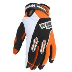 WULF STRATOS : Gants cross bmx orange enfant et adulte