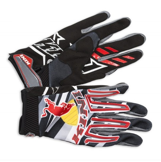 GANTS MOTO CROSS BMX REDBULL KINI REVOLUTION 14 ADULTE S à XXL