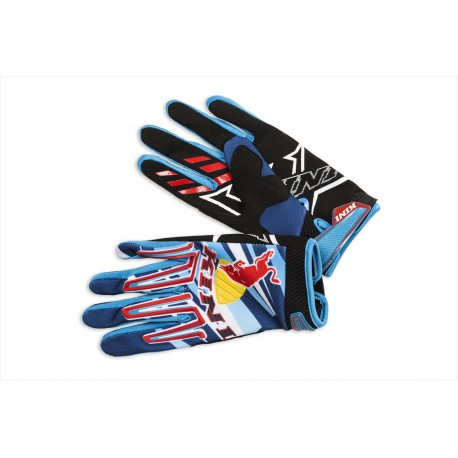 GANTS MOTO CROSS BMX REDBULL KINI COMPETITION 14 ADULTE S à XXL