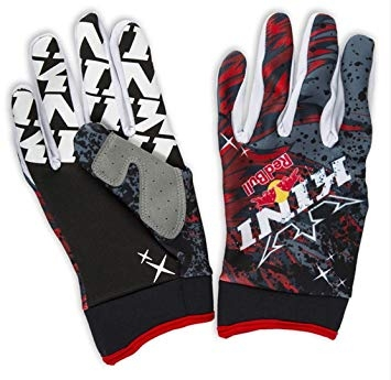GANTS MOTO CROSS BMX REDBULL KINI COMP. ROUGE ADULTE S à XXL