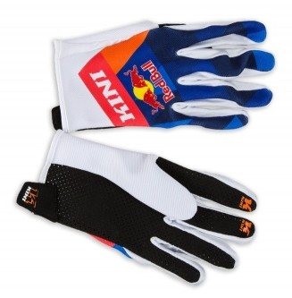GANTS CROSS BMX REDBULL KINI BLEU ORANGE ENFANT XS à XXXXS