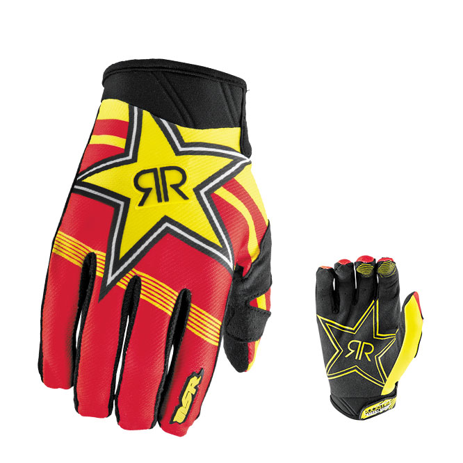 gants moto cross bmx rockstar msr adulte m xxl. Black Bedroom Furniture Sets. Home Design Ideas