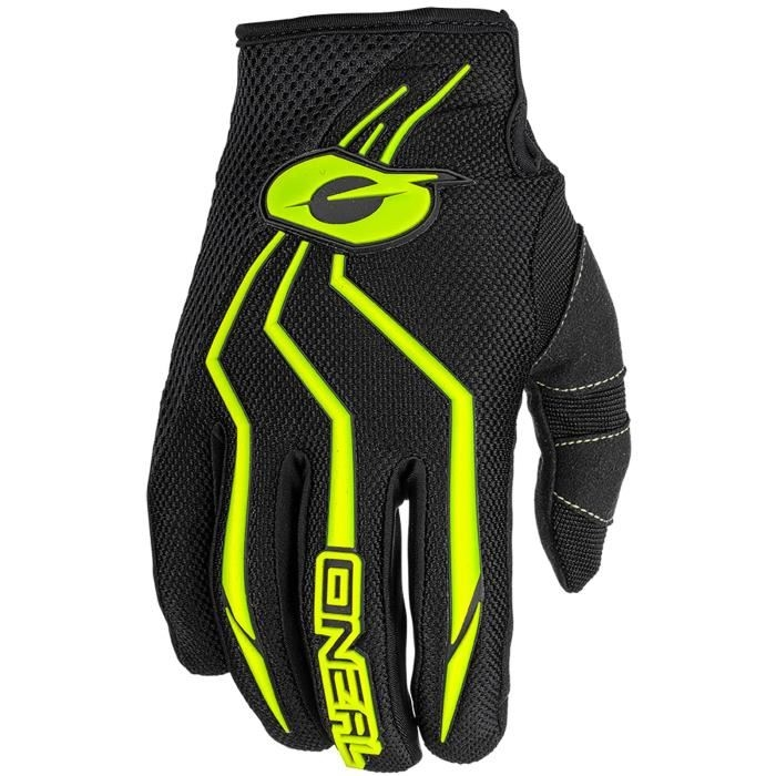 GANTS ENFANT MOTO CROSS / BMX O'NEAL ELEMENT JAUNE FLUO