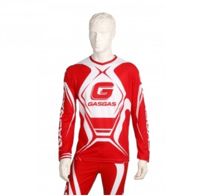 MAILLOT TRIAL / ENDURO GASGAS TEAM OFFICIEL ROUGE taille S à XL