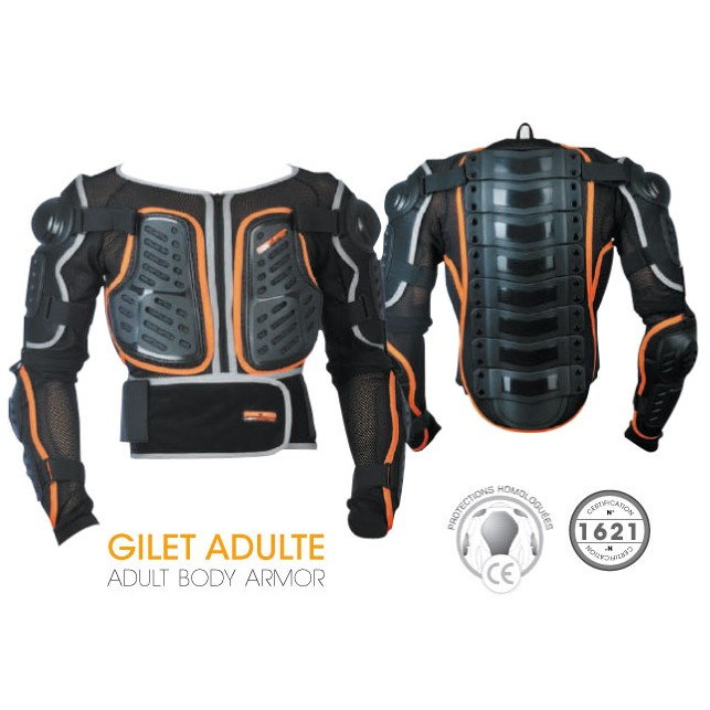 GILET DE PROTECTION ADULTE MOTOMOD CERPROTEC CE XL