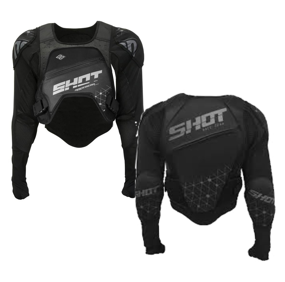 GILET protection SHOT BMX BIKE ULTRA LIGHT ENFANT ADO 5 à 13 ans