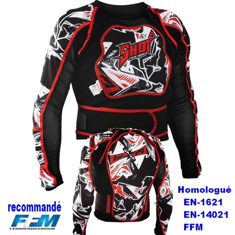 equipement bmx velo protection gilet veste bmx vtt. Black Bedroom Furniture Sets. Home Design Ideas