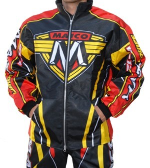 EXCLUSIF : SUPERBE VESTE TYPE ENDURO MOTO CROSS MAICO S a XXXL
