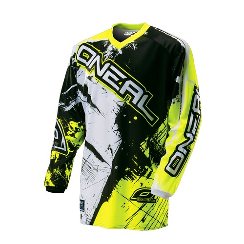 MAILLOT SWEET ENFANT O'NEAL JAUNE FLUO 11/13 ans