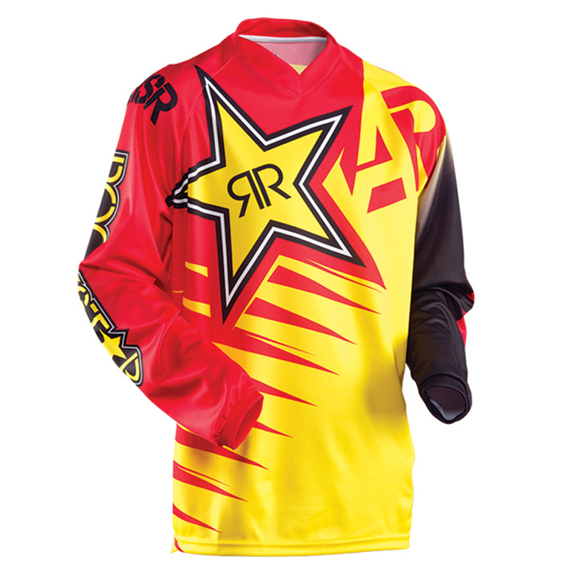 MAILLOT MOTO CROSS ou BMX ANSWER ROCKSTAR ROUGE S