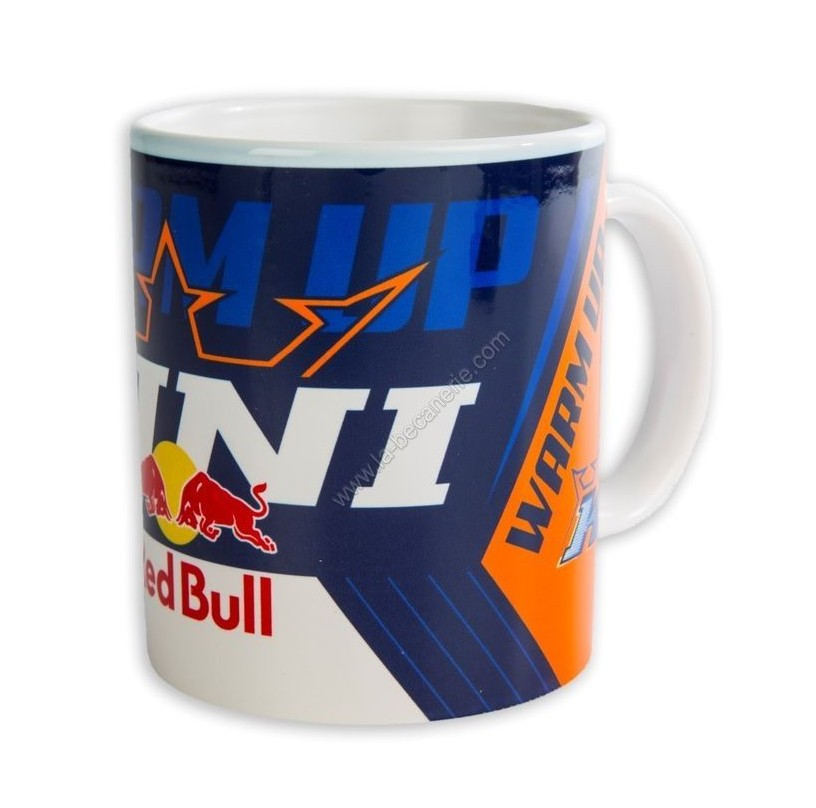 MUG TASSE REDBULL KINI TEAM BLEU ORANGE BLANC