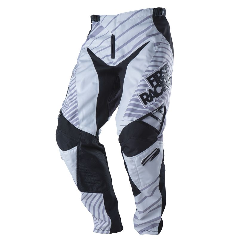 PANTALON CROSS BMX FIRST LITE W BLANC ENFANT 11 14 ans T28