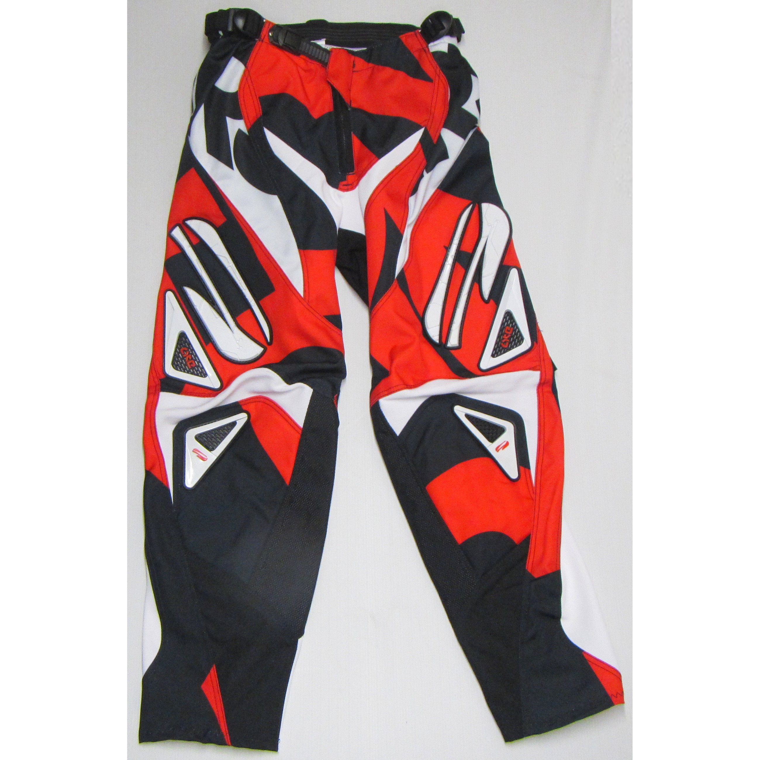 PANTALON CROSS BMX FIRST LITE W ROUGE  ENFANT 11 14 ans T28