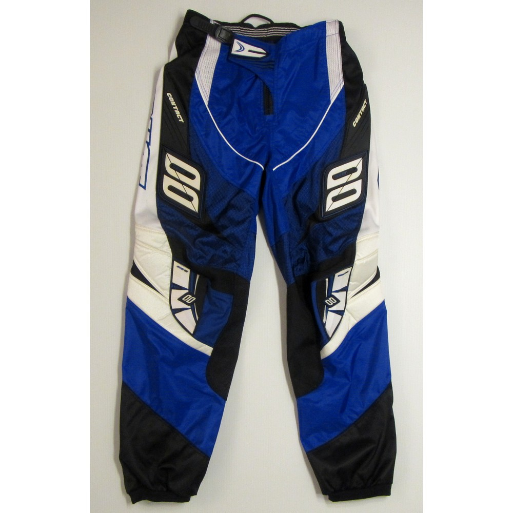 PANTALON cross ou BMX SHOT CONTACT BLEU ENFANT 8 / 10 ans T26