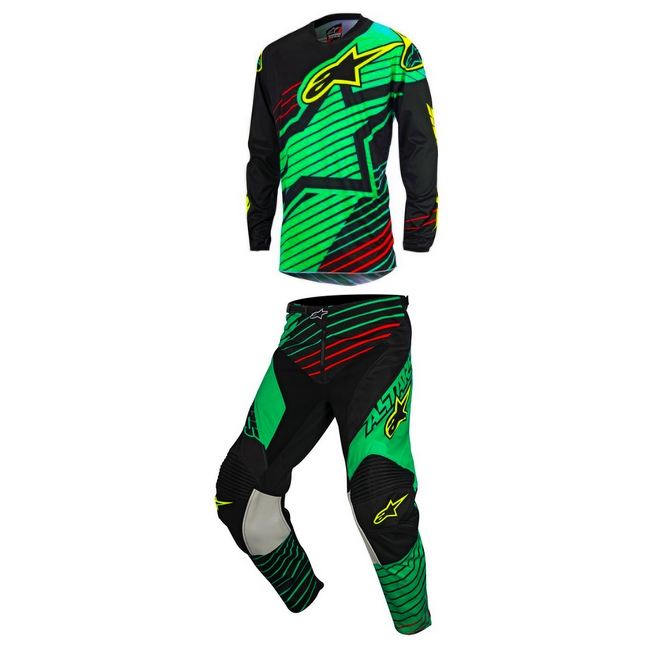 TENUE PANTALON MAILLOT CROSS BMX ALPINESTAR Braap T 30 XL