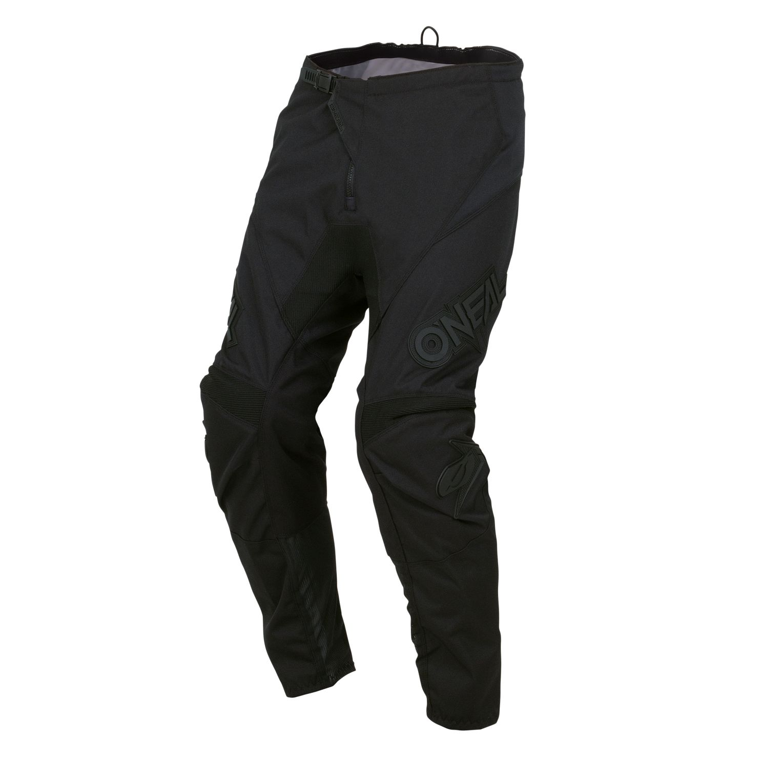 PANTALON CROSS ou BMX O'NEAL ALL BLACK ADO ADULTE T28 à 42us