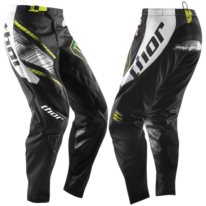 PANTALON CROSS ou BMX THOR MONSTER Pro Circuit S14 ADULTE T 34
