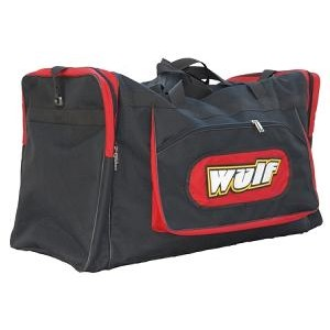 sac de transport gros volume noir rouge wulfsport