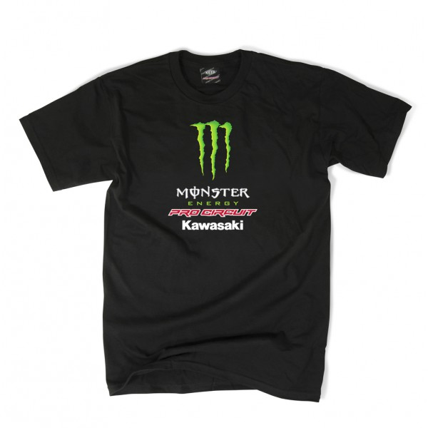 TEE SHIRT MONSTER ENERGY PRO CIRCUIT NOIR ADULTE M