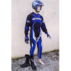 DESTOCKAGE tenue pantalon maillot TRIAL EXID bleu 26 10/11ans