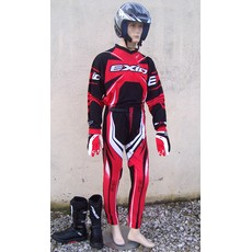 DESTOCKAGE tenue pantalon maillot TRIAL EXID rouge 26 10/11