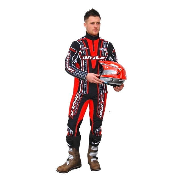 TENUE TRIAL WULFSPORT ADULTE PANTALON SWEET modéle X1 ROUGE XL