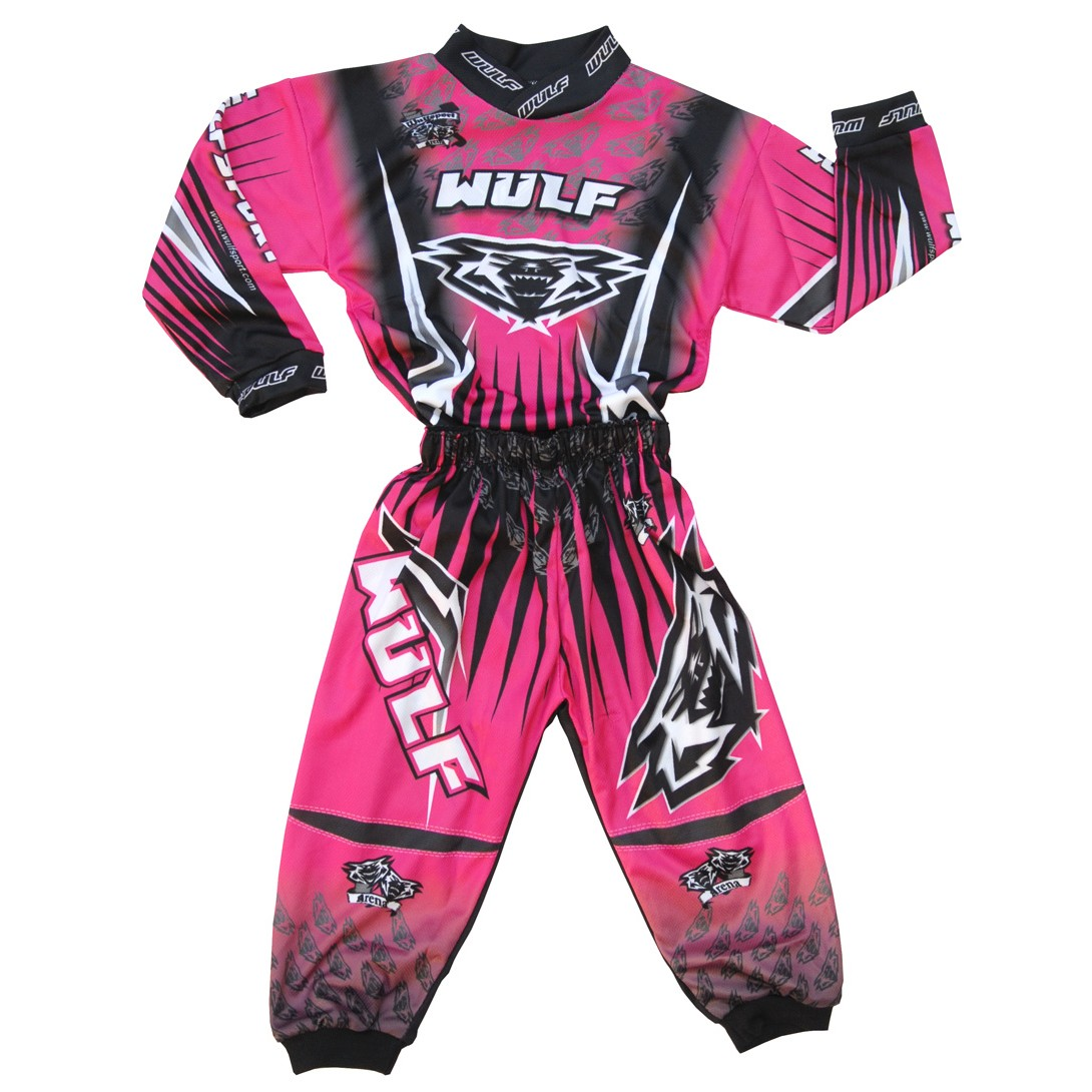 EXCLUSIF : TENUE cross ROSE WULF ARENA BABY 1,5 à 2,5 ans