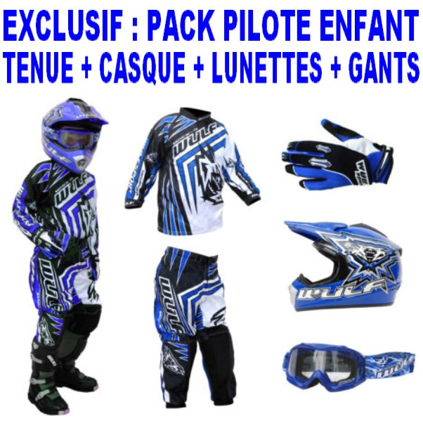 pack enfant cross bmx wulfsport birace bleu 8 14ans t26 28. Black Bedroom Furniture Sets. Home Design Ideas