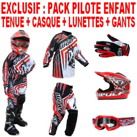 pack enfant cross bmx wulfsport birace rouge 4 14a t22 28. Black Bedroom Furniture Sets. Home Design Ideas