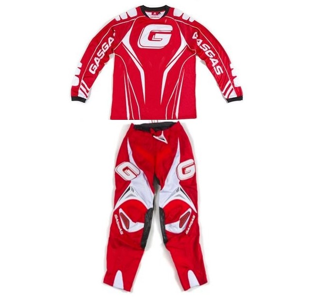 GASGAS TENUE ENDURO CROSS modéle RACING OFFICIEL ROUGE M à XXL