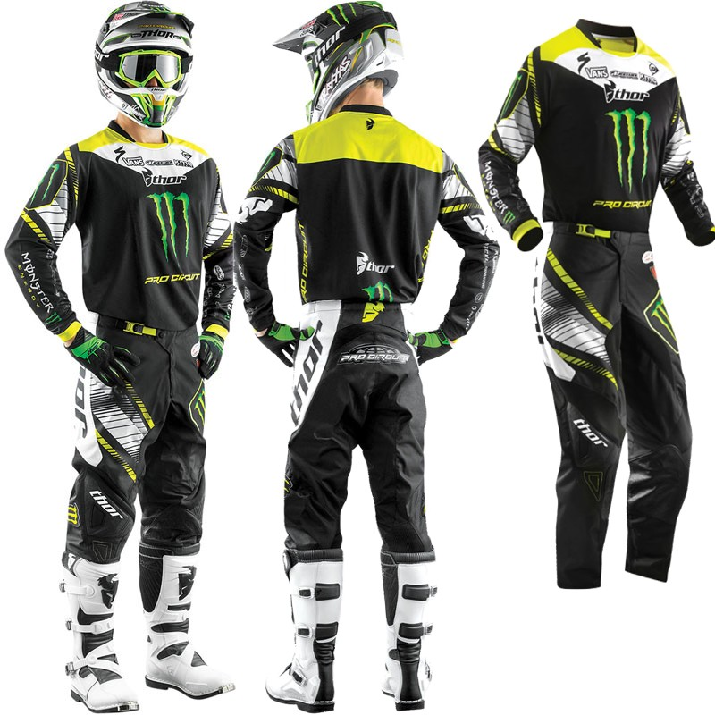 tenue ADULTE THOR MONSTER PRO-CIRCUIT vert 2015 T30 S