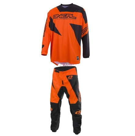 tenue ADULTE ADO O'NEAL MATRIX ORANGE MOTO CROSS BMX ttes taille
