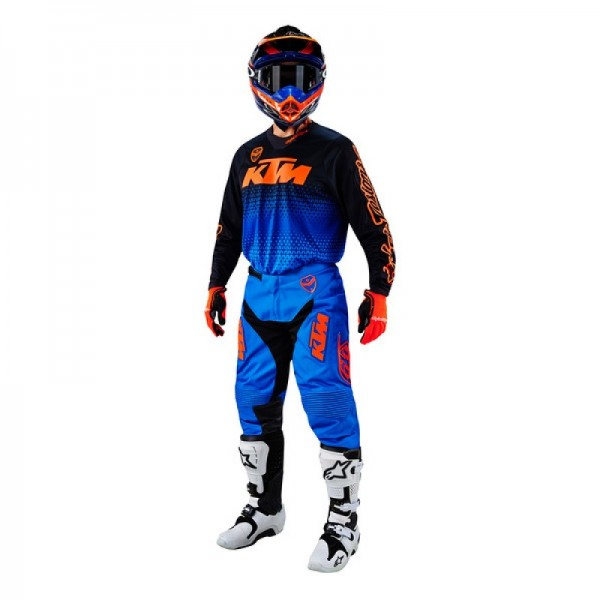 TENUE PANTALON MAILLOT TROY LEE DESIGN STARBUST KTM 32 L 34 XL