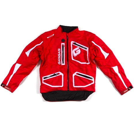 SUPERBE VESTE SPECIALE TRIAL GASGAS ROUGE taille L