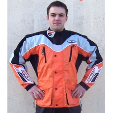 VESTE enduro cross trial SHOT Contact orange XL