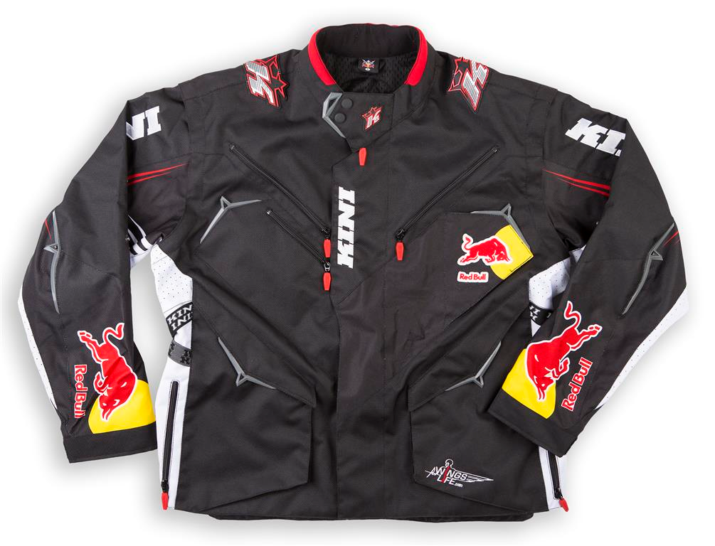 veste enduro rally cross kini redbull compet noire xl. Black Bedroom Furniture Sets. Home Design Ideas