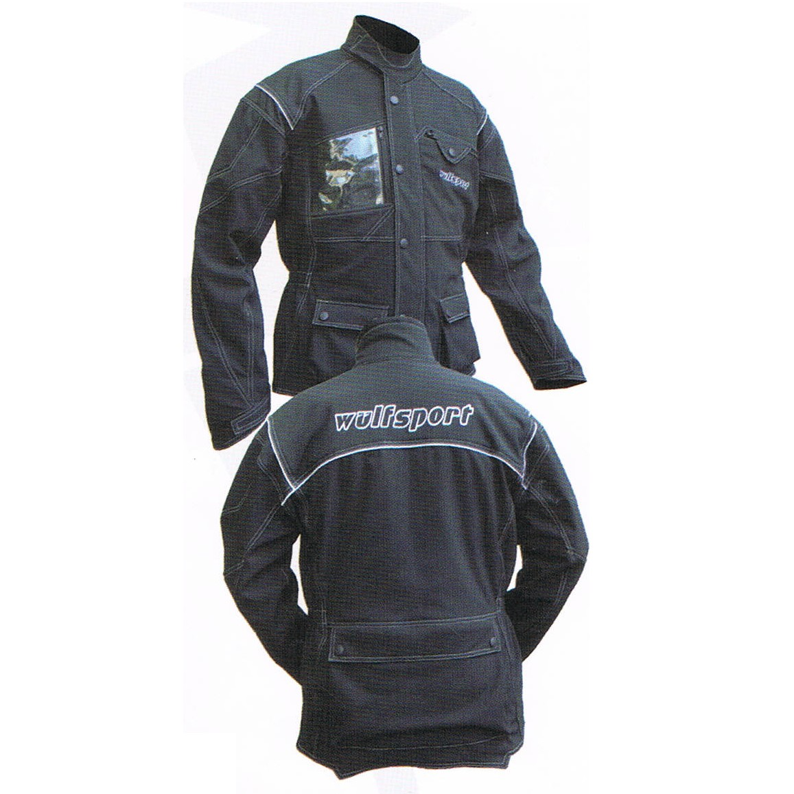 veste trial enduro quad rando trail wulf elite noir de s a xxxl. Black Bedroom Furniture Sets. Home Design Ideas