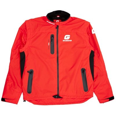 SUPERBE VESTE SPECIALE TRIAL GASGAS ROUGE 2014 taille L