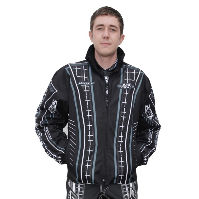 WULF : VESTE NOIR trial enduro cross XXXL ( 3XL ) DESTOCKAGE